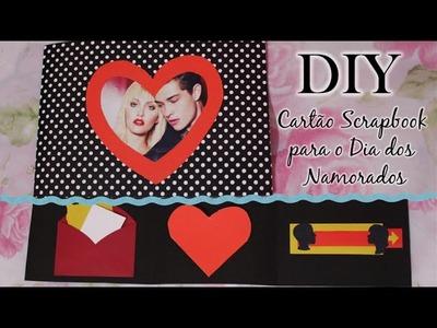 DIY: Cartão Scrapbook para o Dia dos Namorados