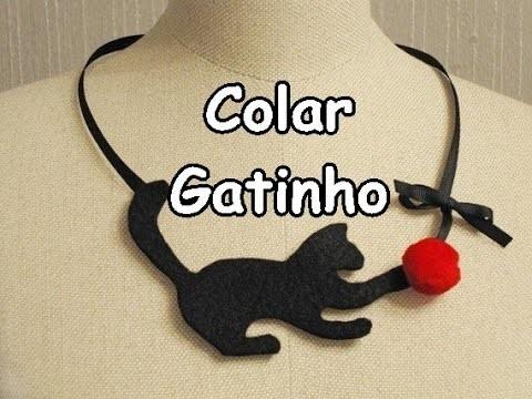 DIY :: Colar de gatinho