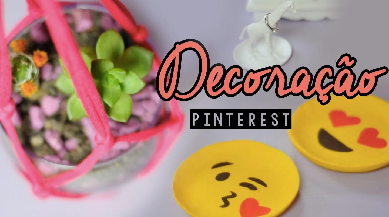 DIY Decoração para Quarto - Pinterest   Projeto DIY