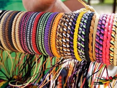DIY - Friendship Bracelets (pulseira da amizade.hippie)