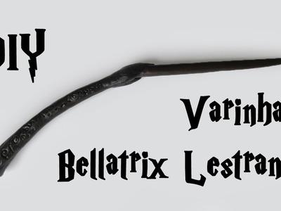 DIY: Varinha Bellatrix  Lestrange (Harry Potter Wands Tutorial)