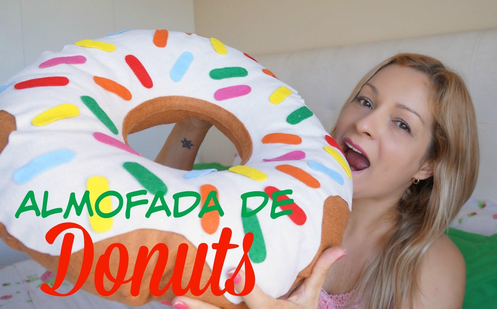 Almofada de Donuts | DIY Dia das Crianças