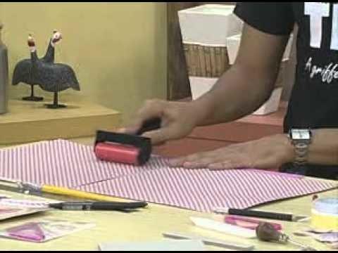 ARTE BRASIL -- HÉLVIO MENDONÇA -- PORTA BLOCO DE ENCADERNAÇÃO (23.02.2011 - Parte 1 de 2)