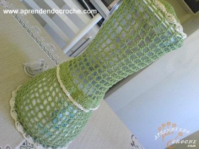 Capa para Liquidificador em Crochê Elegance
