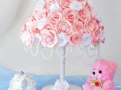 Como decorar um Abajur para quarto de bebê