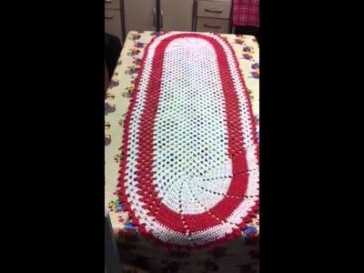 Croche tapete bloquinho peça maior