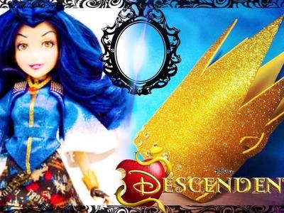 Disney Descendentes - Tutorial Pulseira da Evie! Descendants DIY