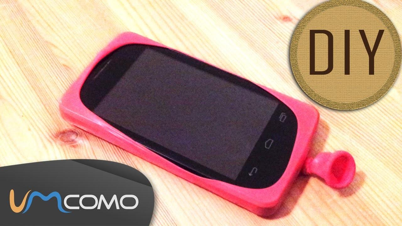 DIY - Capa para Celular de Bexiga