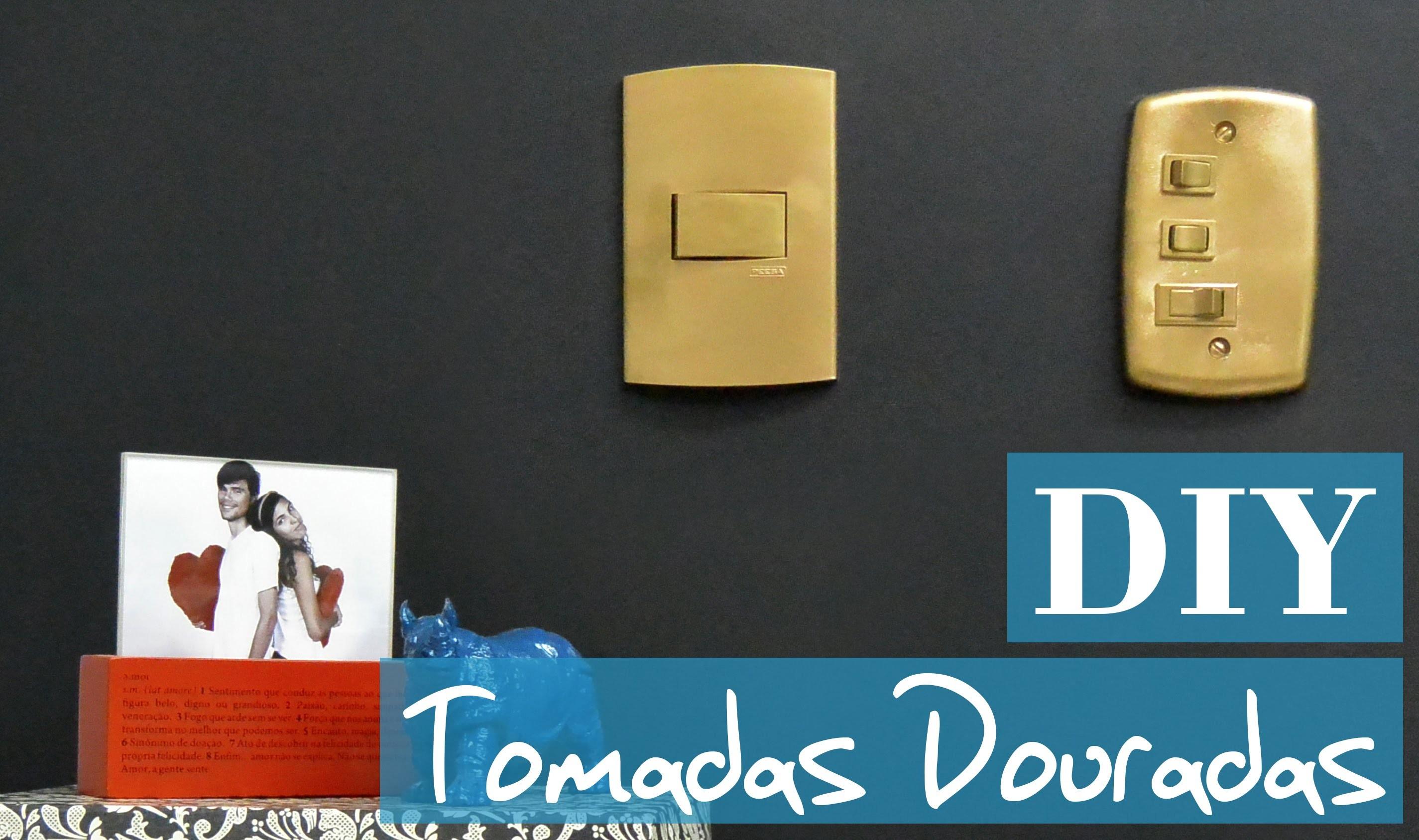 DIY | Como customizar tomadas e interruptores - TUTORIAL