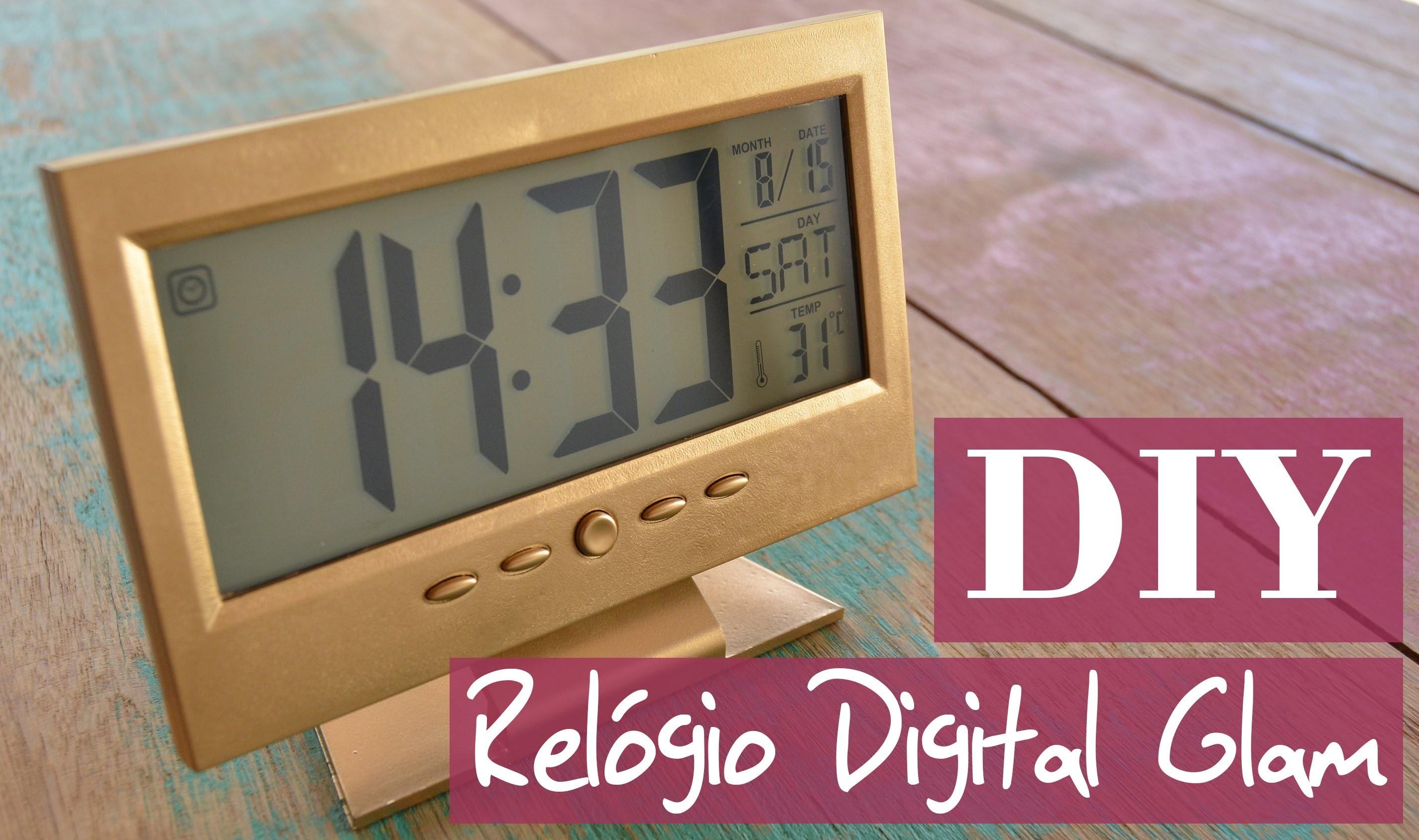 DIY   Como dar um Up em um relógio digital comum - TUTORIAL