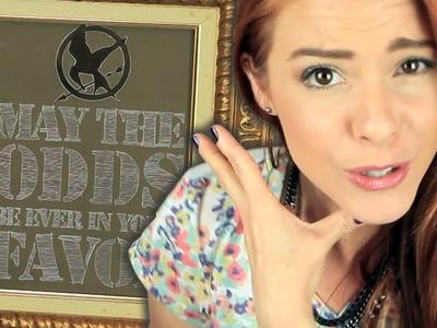"""DIY :: Decoração """"Hunger Games"""" + Sorteio do Trono!!!"""