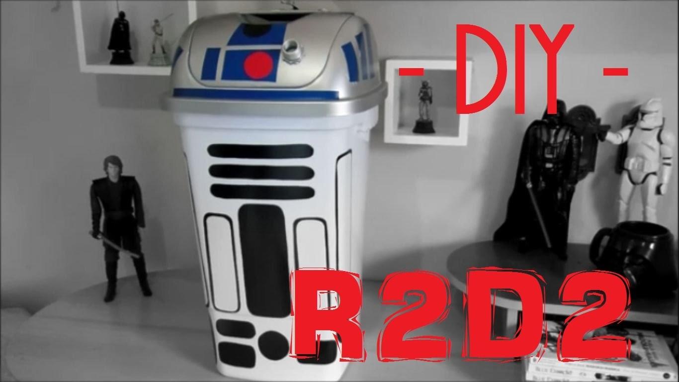 DiY | Lixeira do R2D2 - Star Wars
