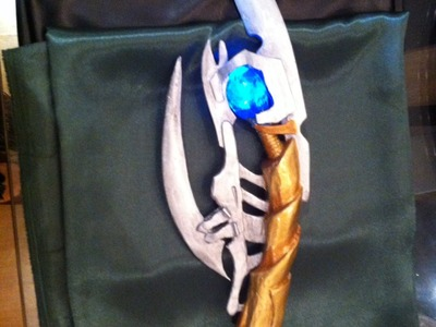 Loki scepter - D.I.Y como fazer cetro  Loki