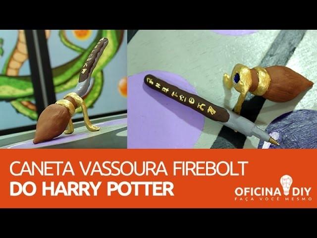 Oficina DIY #07 - Caneta Vassoura Harry Potter