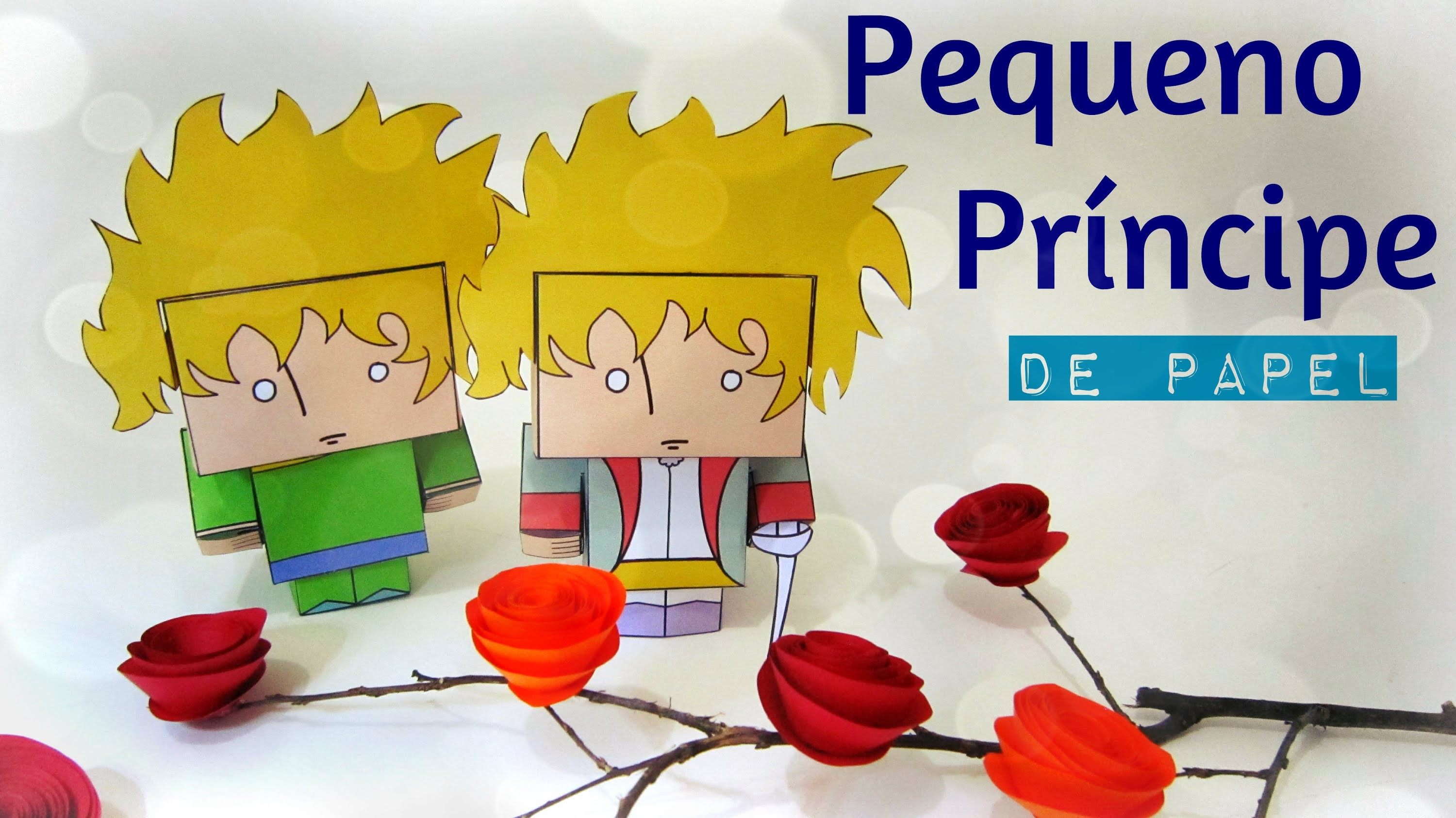 pequeno pr ncipe de papel papercraft le petit prince. Black Bedroom Furniture Sets. Home Design Ideas