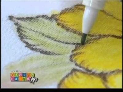 Ateliê na TV - Márcia Caires - Pintura com canetinhas