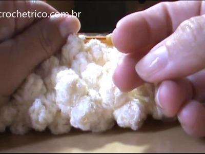 Crochê - Boina Pipoca - 03.03