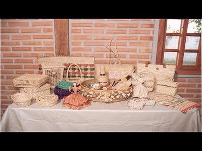 Curso Artesanato em Palha de Milho - Bolsas, Caixas, Baús, Cestos, Bonecos e Outros - Cursos CPT