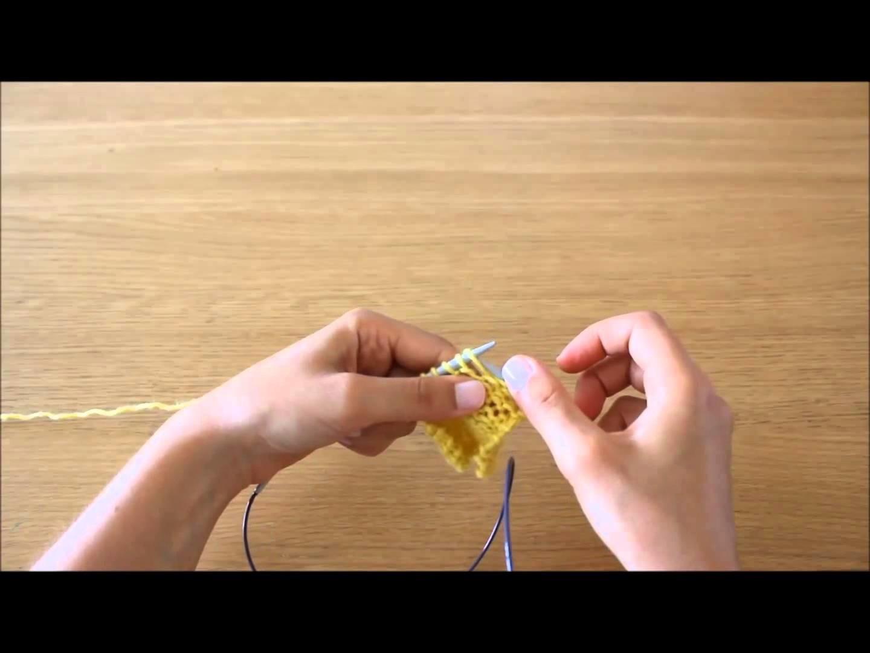 Curso tricot - Querido tricot: ponto meia (stockinette stitch)