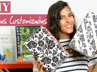 DIY | Como customizar caixas de sapato ♥ How to customize shoe boxes