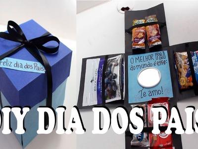 DIY DIA DOS PAIS: CAIXA SURPRESA