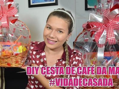 PRESENTE DIA DOS NAMORADOS  -Cesta de Café da Manhã DIY Supreenda seu amor