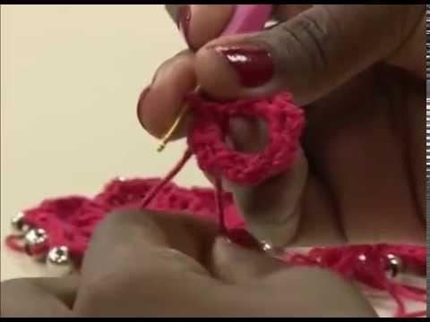 Programa Arte Brasil - 25.02.2015 - Susana Santos - Colar em Crochê