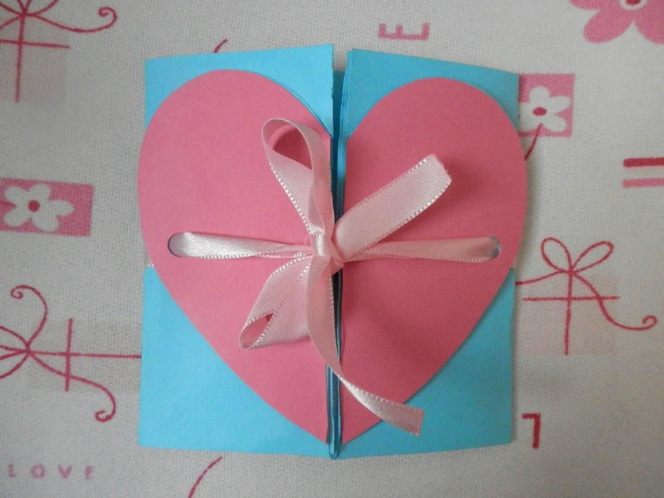 Box Card Heart - Tutorial