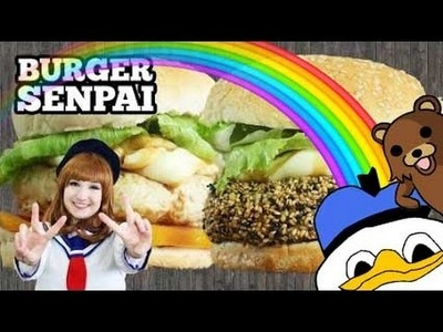 BURGER SENPAI! Sanduba Insano + Haru