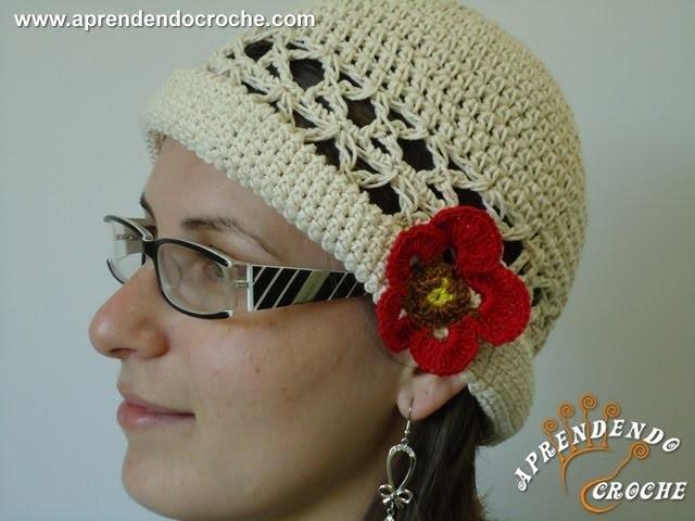 Chapéu de Crochê Gracinha