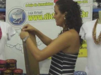 Clickfios TV - Aprenda a fazer Colar com a linha Mosaico