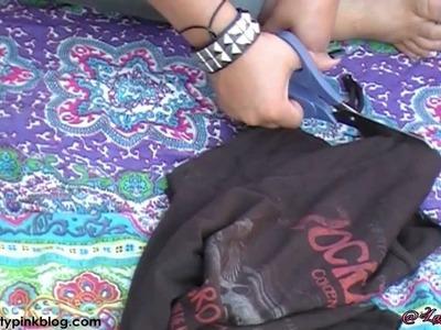 Como customizar uma camiseta por - Lary Maciel (Pra Toda Mulher)