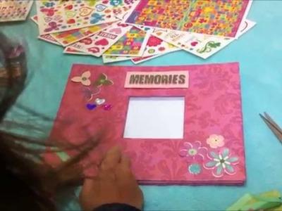 Daniela Pompeu - Meu primeiro scrapbook.