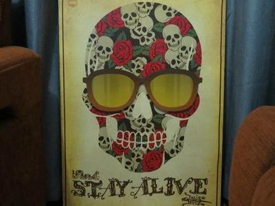 Diy: Como fazer um poster em MDF- Diane Silva
