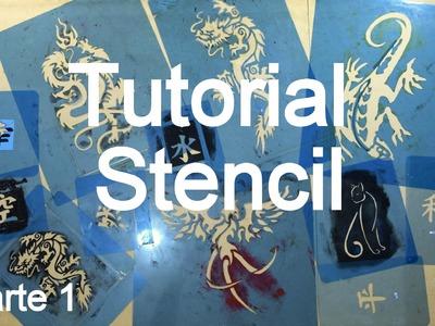 Pintura com Stencil para Cosplay, parte 1 - Dicas de Cosmaker