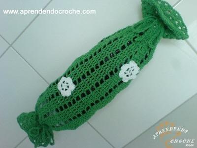 Puxa Saco em Croche Facility - 2º Parte -  Aprendendo Crochê