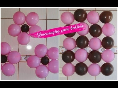 Sugestões de decoração: Paredes de balões