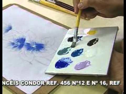 ARTE BRASIL -- LUIS MOREIRA -- MARGARIDAS EM TECIDO MOLHADO (16.05.2011 - Parte 1 de 2)