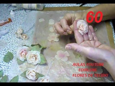 AULA 60: ROSINHAS COLORIDAS PARA CABELOS DE NOIVA (com tingimento)