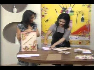 CrisArt Artesanatos - Caixa - livro (parte 4 de 5)