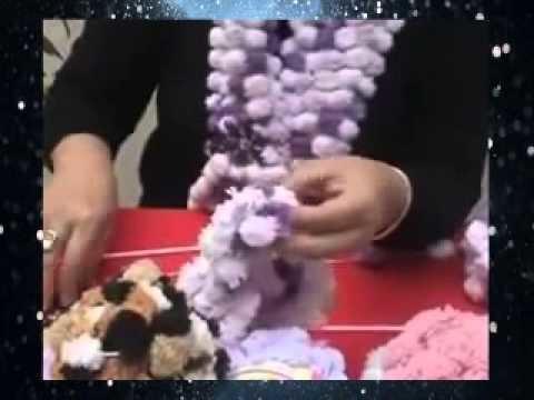 Crochet Puff Ball Scarf Parte 2