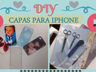 DIY - Como fazer capas para o Iphone | POR SAPPHIRE MORNING