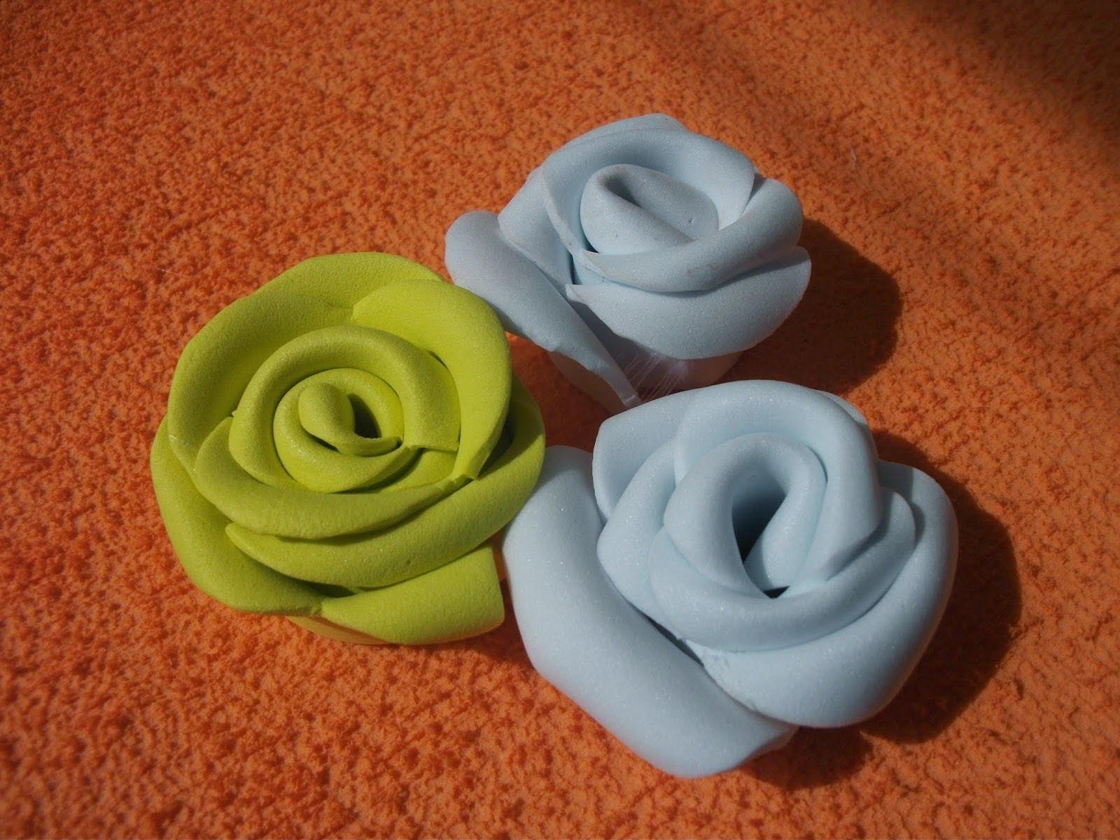 DIY: Como fazer flores em musgami EVA