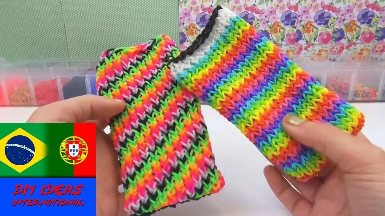 Lado Avesso -- dica de uso de capinhas para smartphone iPhone e HTC One Rainbow Loom