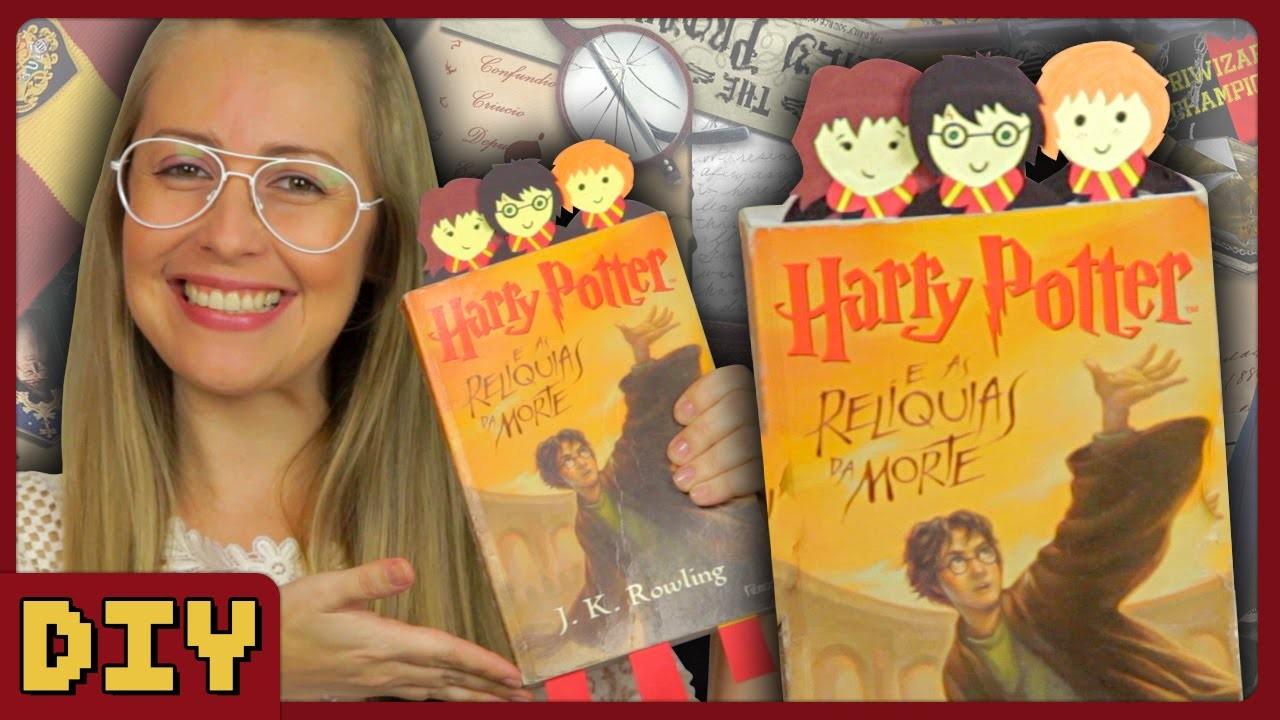 Marca Página do Harry Potter - DiY Geek