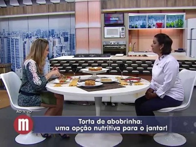 Mulheres - Torta de Abobrinha (15.07.2015)