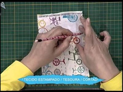 Porta moedas de cartonagem - 2do bloco