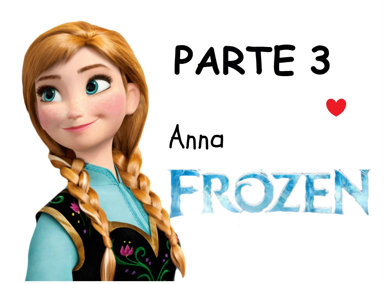 Veja como pintar a Anna do Frozen - Parte 3