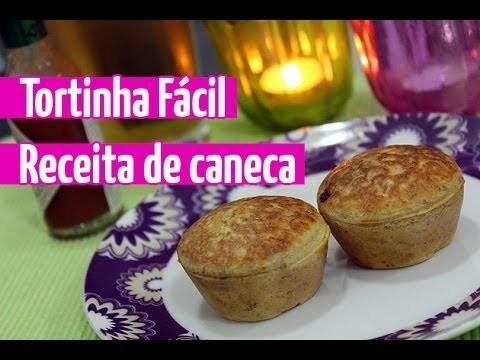 Como fazer Torta Salgada Fácil (receita de caneca) por Luiza Gomes @eucapricho