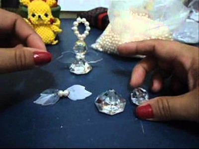 Como fazer um anjinho em Pedraria